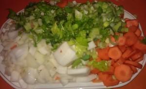 Découper ses légumes