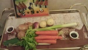 Apprêter ses légumes